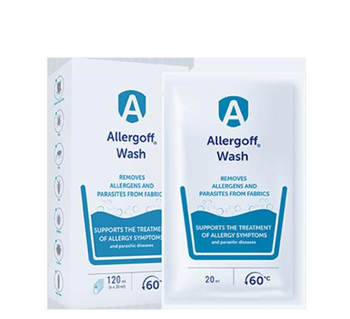 Allergoff wash - image